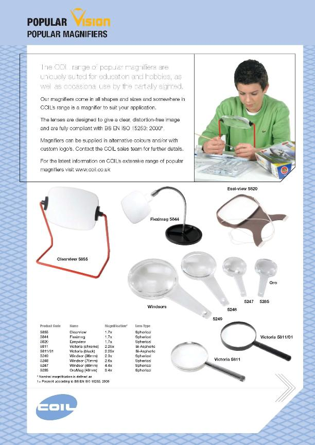 Popular Magnifiers pg.1