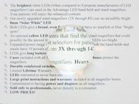 4X (12D) SMARTMag 50mm Dome Bright Field Magnifier
