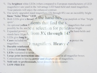 4X (12D) SMARTMag 65mm Dome Bright Field Magnifier